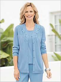 A Touch Of Lace Cardigan
