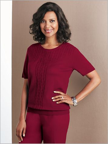 Cable Front Sweater - Image 0 of 1