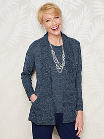 Marled J Pocket Cardigan