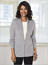Luxe Touch Ribbed Cardigan