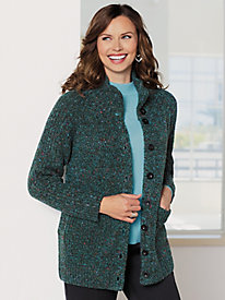Marled Sweater Jacket
