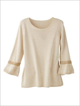 Gilded Glamour Sweater