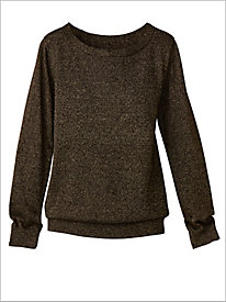 Shimmer Long Sleeve Sweater