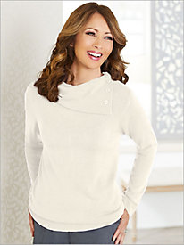 Soft Spun® Acrylic Envelope Neck Sweater