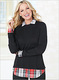 Bristol 2-Fer Sweater by Foxcroft