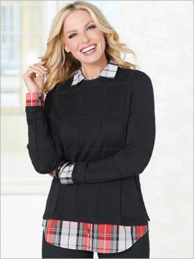 Bristol 2-Fer Sweater by Foxcroft