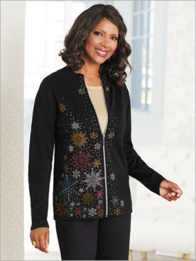 Snowflake Tree Sweater