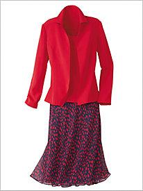 Dot Dressing Skirt Set