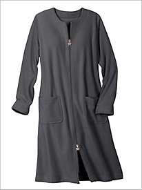 Fleece Knee Length Robe
