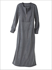 Fleece & Satin Robe