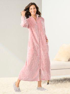 Jacquard Chenille Full Length Robe