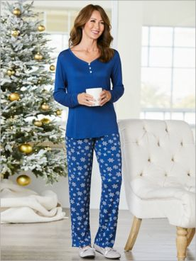 Snowflake Sleep Set