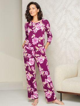 Beautiful Blooms Pajama Set