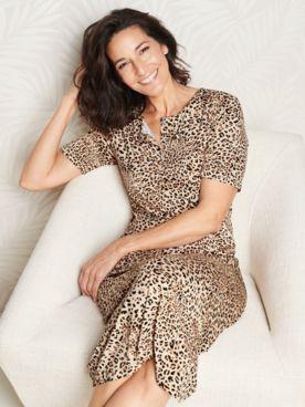 Lovely Leopard Sleep Shirt