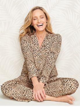 Lovely Leopard Pajama Set