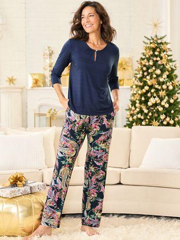Paisley Pajama Set - Image 2 of 2