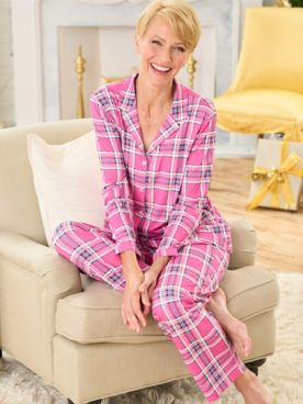 Perfectly Plaid Pajama Set