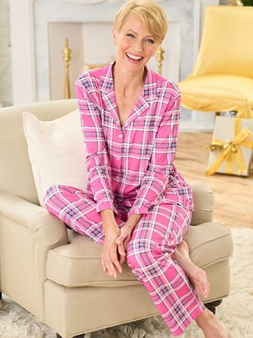 Perfectly Plaid Pajama Set - Image 2 of 2