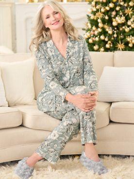 Enchanted Floral Pajama Set