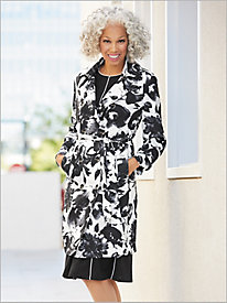 Printed Trench Coat by Brownstone Studio®