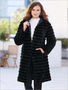 Fabulous Faux Fur Coat