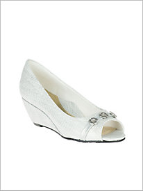 White Adley Wedge
