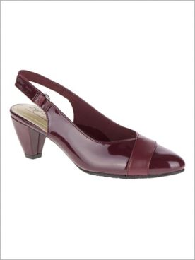 Bordeaux Dagmar Sling Back by Soft Style®