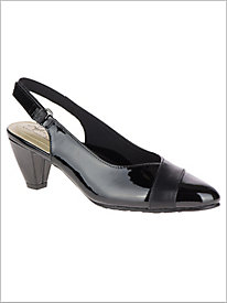 Dagmar Sling Back - Black