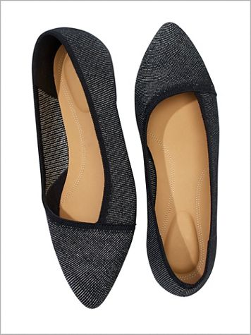 Sadie Knit Ballet Shoes by Hush Puppies® - Image 1 of 4
