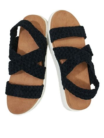 Hibiscus Sandals by Bernie Mev® - Image 1 of 4
