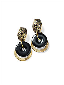 Blacktrack Earrings