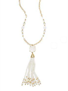 Versailles Tassel Necklace