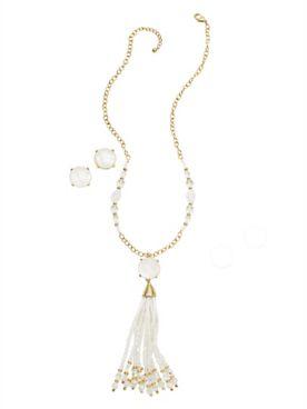 Versailles Tassel Jewelry