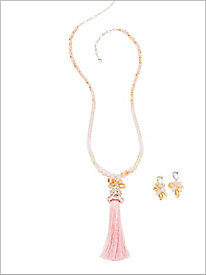 First Blush Tassel Jewelry
