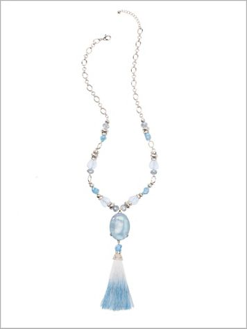 Seaside Tassel Necklace - Image 2 of 2