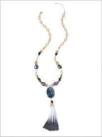 Seaside Tassel Necklace