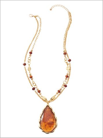 Glitter Rock Necklace - Image 2 of 2