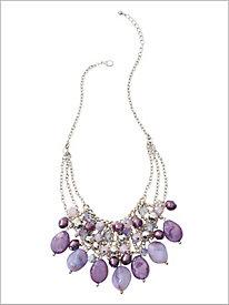Purple Reign Necklace
