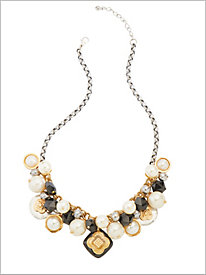 Baubles 'N Pearls Necklace
