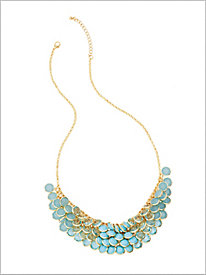 Channel Bauble Necklace