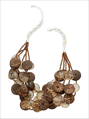 Yes She Wood Necklace - Image 1 of 5