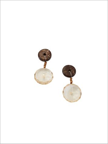 Yes She Wood Earrings - Image 1 of 1