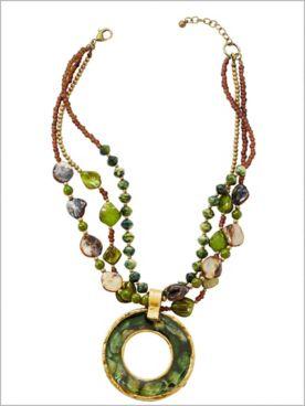 Opulent Ombré Necklace