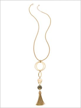 Sonora Sands Tassel Necklace