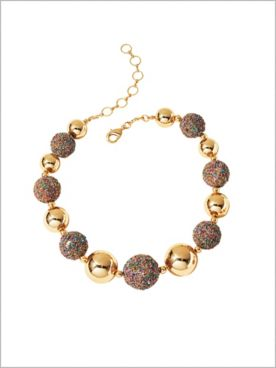 Beaded Bon Bon Necklace