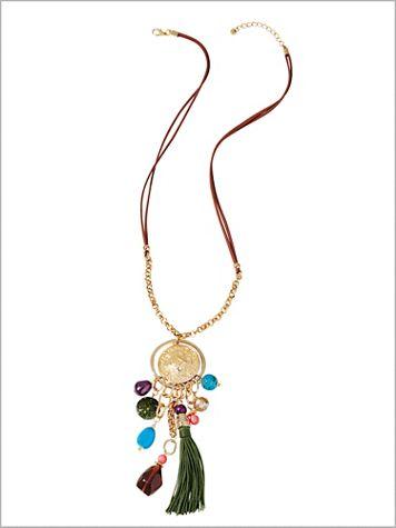 Treasure Island Tassel Necklace - Image 2 of 2
