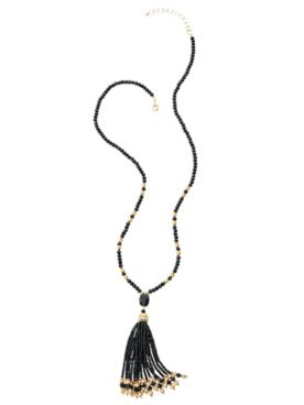 Nightfall Tassel Necklace