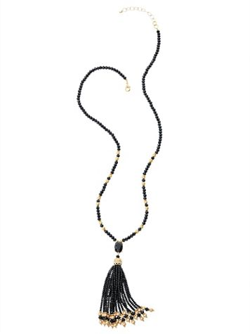 Nightfall Tassel Necklace - Image 2 of 2