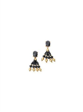 Nightfall Tassel Earrings - Image 2 of 2