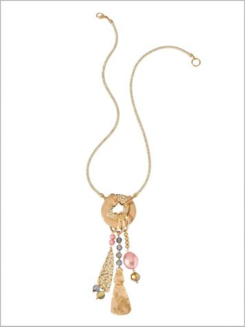 Gilded Glamour Necklace - Image 2 of 2